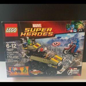 76017- Captin America VS Hydra LEGO NEW sealed box Marvel  Rare RED SKULL 2014